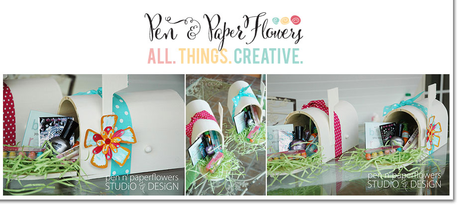 Easter Mailbox Surprises by Pen N' Paper Flowers