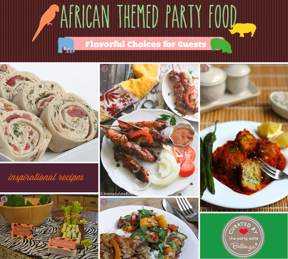 African birthday party food