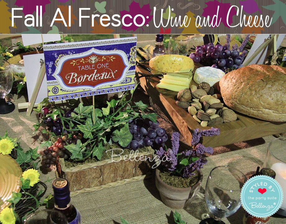 garden table decor for an al fresco party