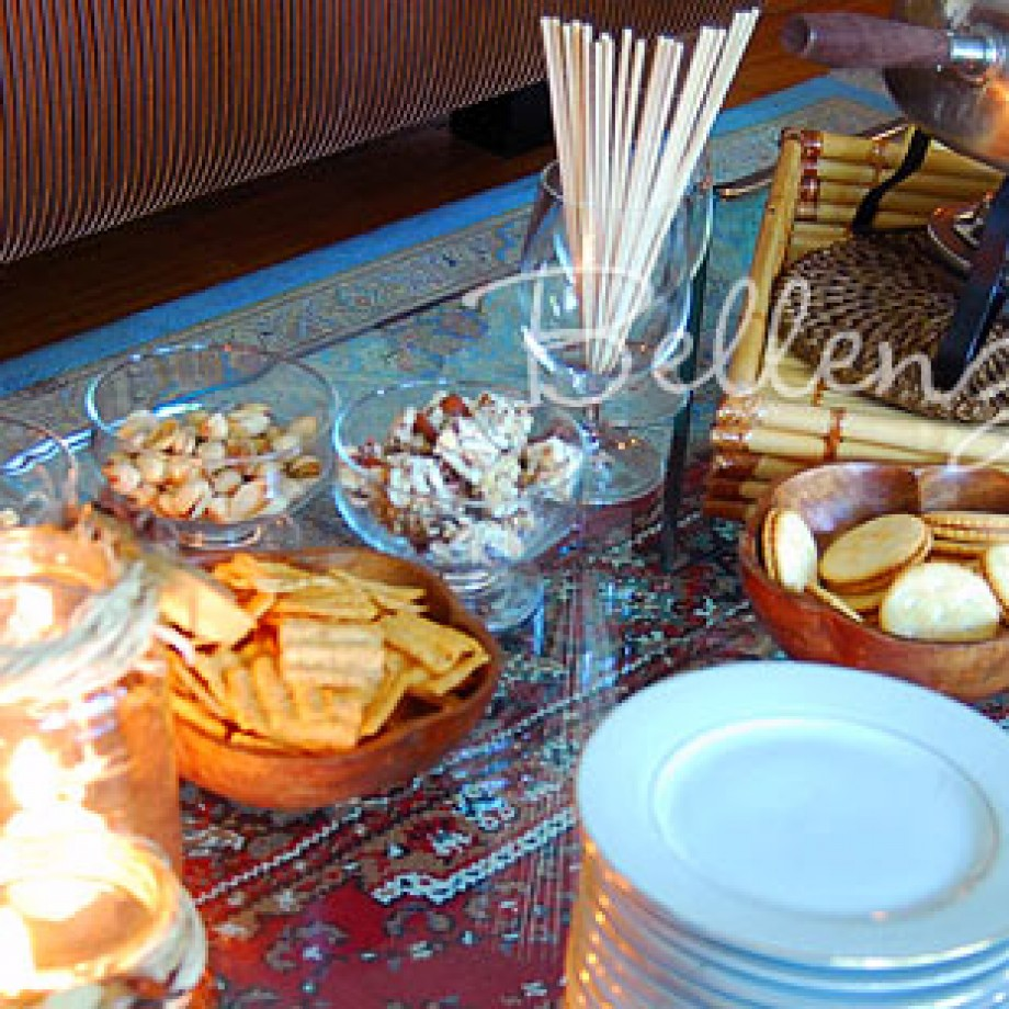 Host a Casual Fall Party in Your Living Room!