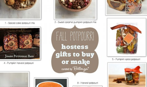 Autumn potpurri recipe gift ideas using ingredients from apple to cinnamon to pumpkin spice.