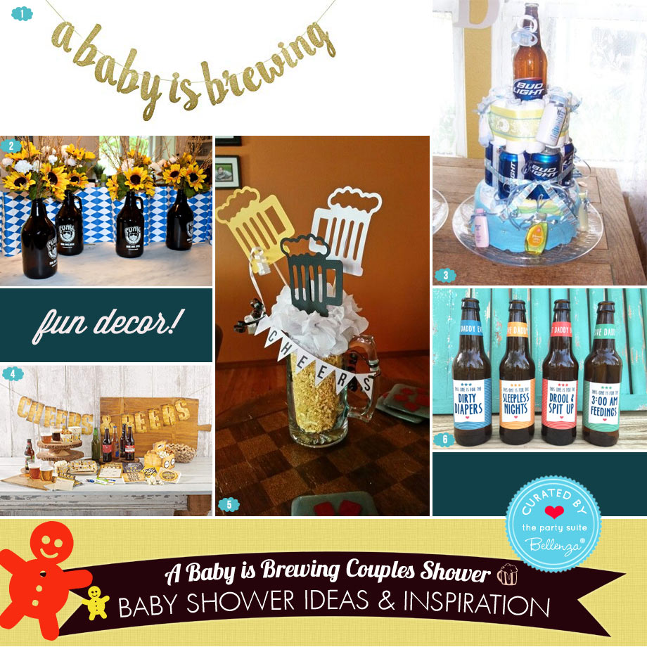 Beer Party Decorations to Buy or DIY from Banners to Table Centerpieces
