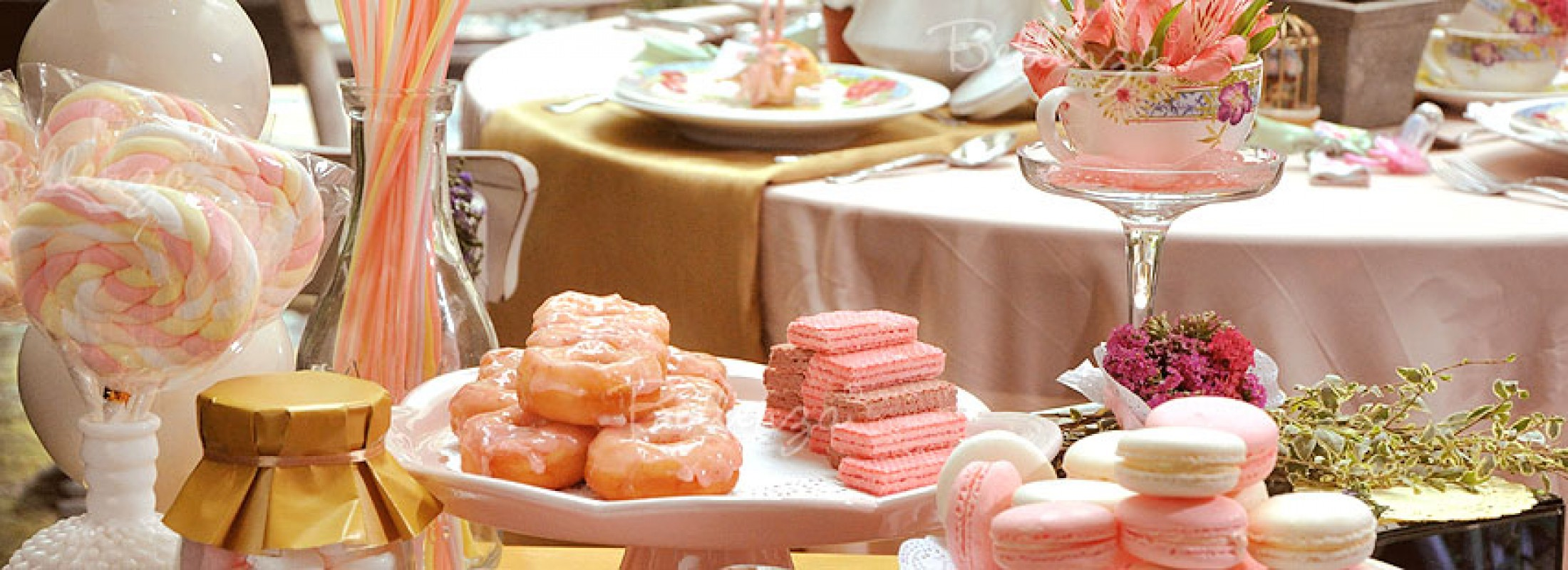 Oh, Sweet Baby! A Dessert Table for a Summer Baby Shower!