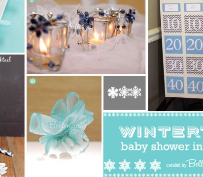 Winter Blue Baby Shower Ideas