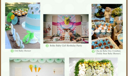 Baby & Toddler Parties Styled with Love! A first week of September 2015 party roundup by the Party Suite at Bellenza!