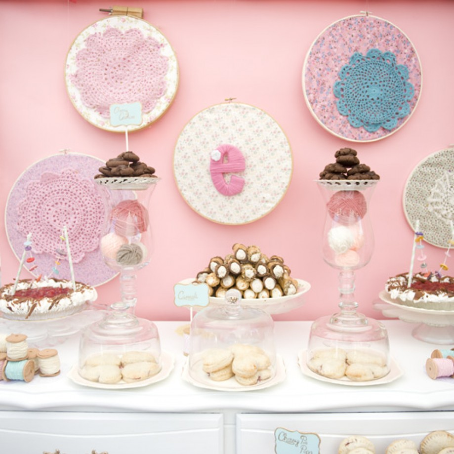 A Charming Homemade Baby Shower by Darling and Daisy