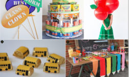 Back to School Party Fun. Ideas with a Crafty Flair