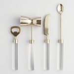 4 - Gold and Acrylic Bar Tools