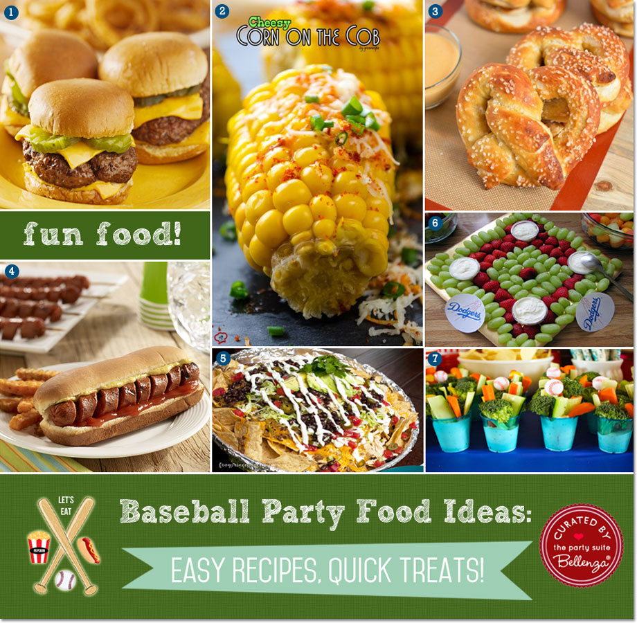 Easy Dinner Ideas For Party Part - 47: Baseball Food Classics Made Easy