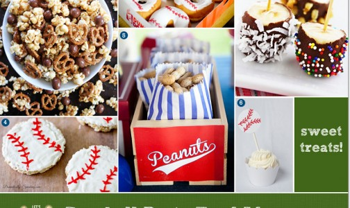 Baseball Snacks and Sweet Treats