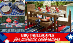 BBQ Tablescape Inspiration in Red, White, and Blue