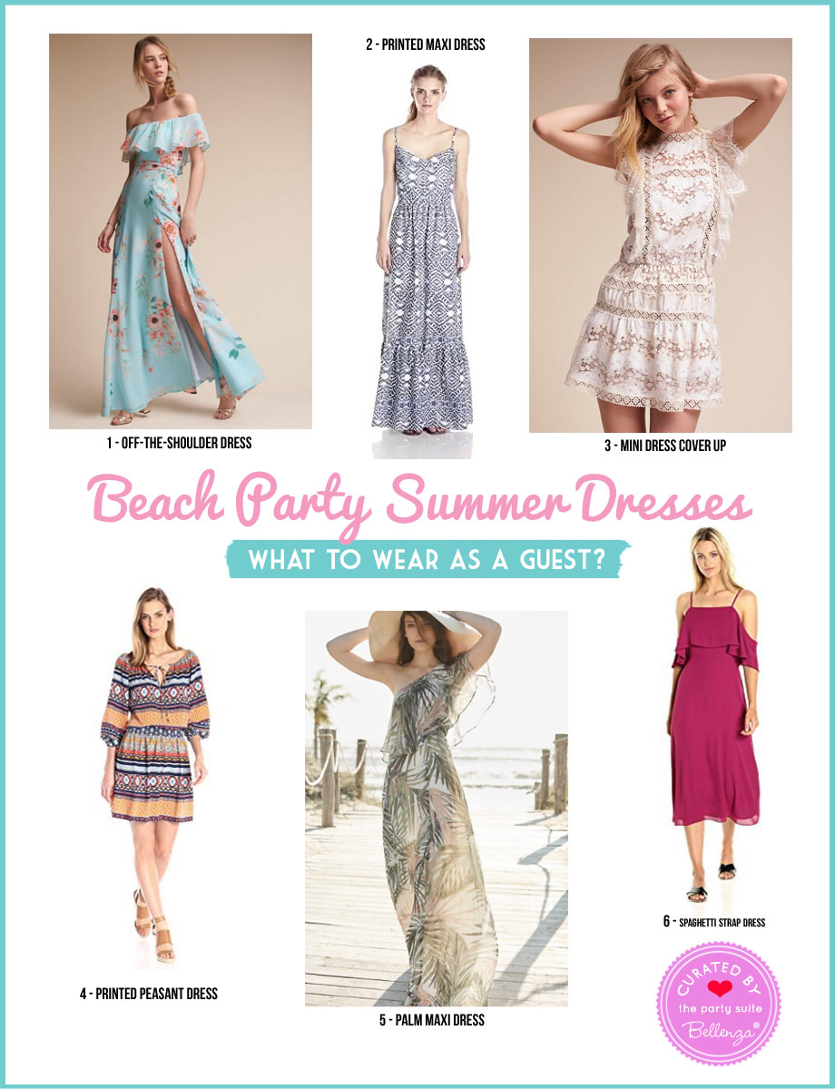 6 Pretty Dresses for a Beach Party