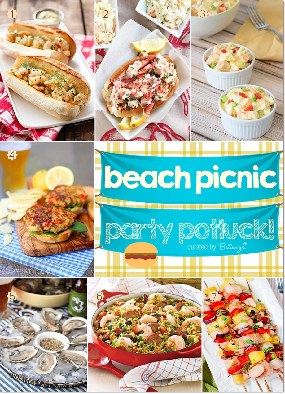 Beach Picnic Potluck Party! Yummy Recipes for What to Bring!