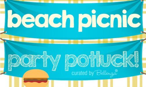 Beach picnic potluck party ideas
