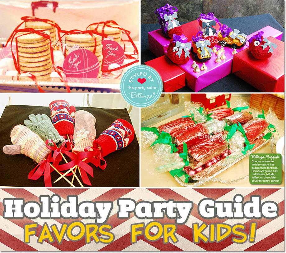 Homemade Christmas Favors from Home Baked Cookies to Holiday Mittens to Party Crackers