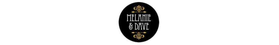 Black and gold custom labels via Evermine