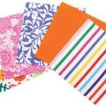 6 - Bloom fabric squares
