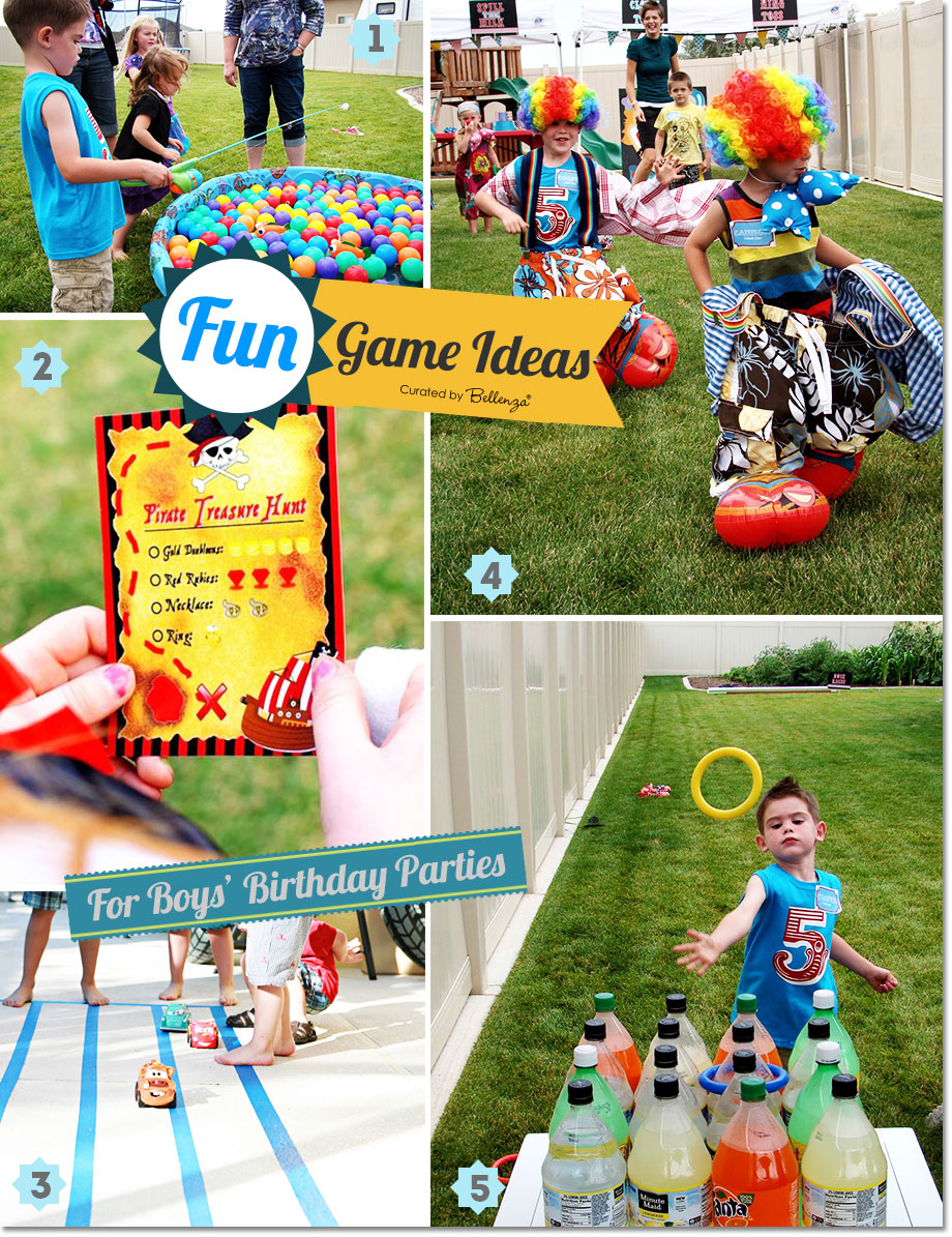 fun games and activities for boys birthday parties