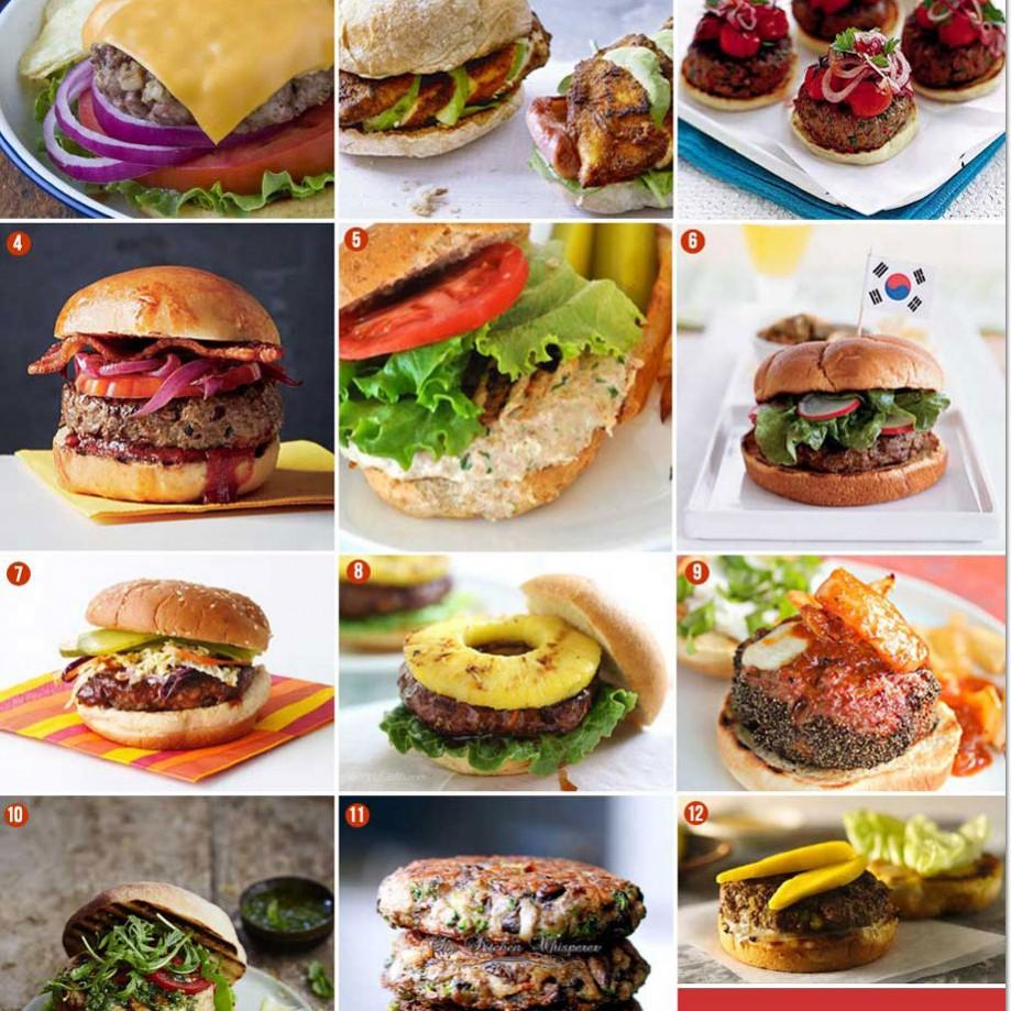 Burger Recipes for Summer Grilling! #summerburgers #burgerrecipes