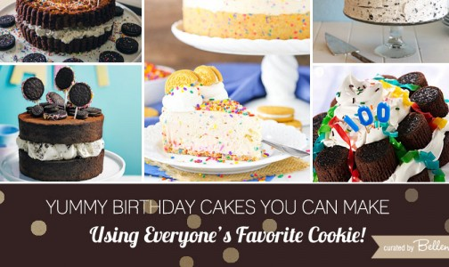 Oreo cookie birthday cake ideas from no-bake cheesecakes to ice cream cakes // curated by Bellenza.