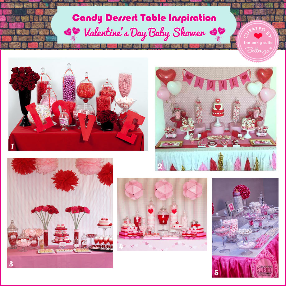Valentine's Candy Buffet Inspiration