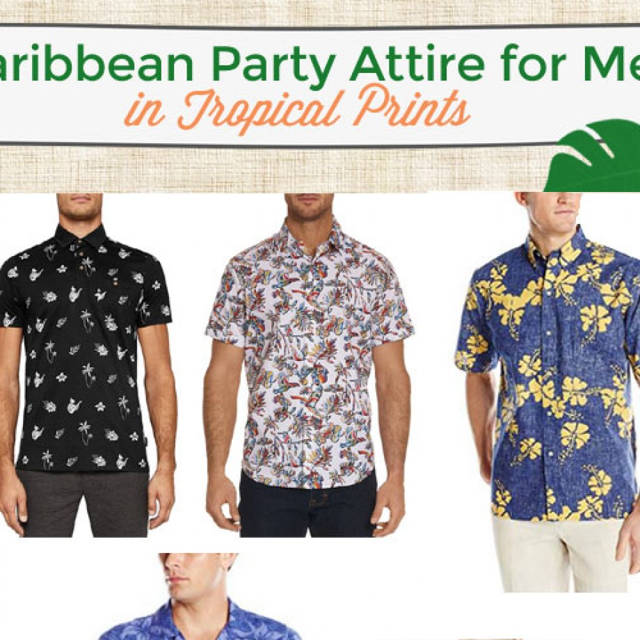 Caribbean party attire for guys