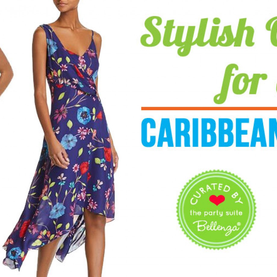Caribbean Party Attire for Ladies in Fresh Colors!