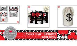 Casino birthday party theme ideas