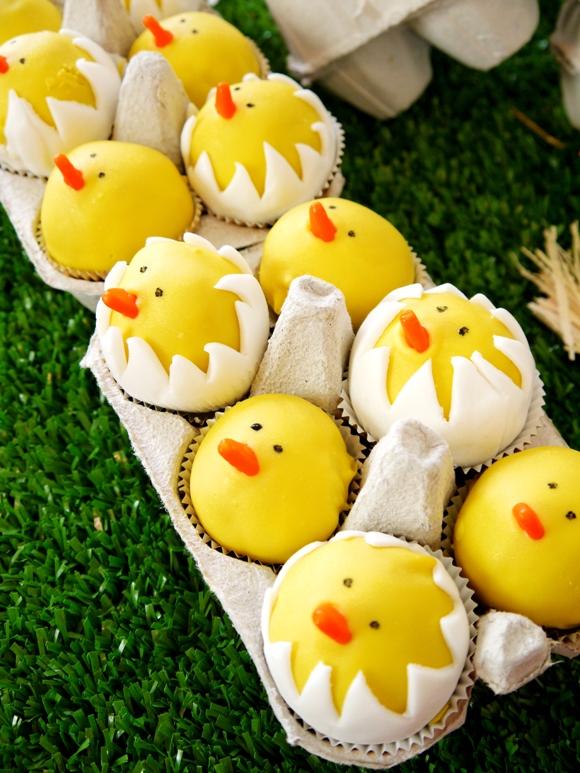 Cake Pops For An Easter Baby Shower