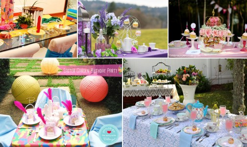 How to Style the Prettiest Girls' Tea Party Tablescapes
