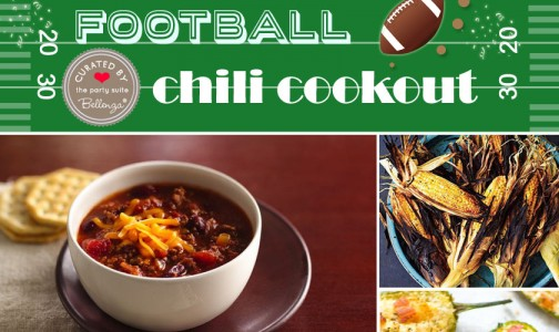 Football Chili Cookout Birthday Theme