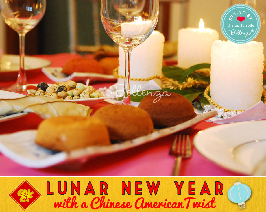 Lunar New Year with an Chinese American Twist Table settings at Home
