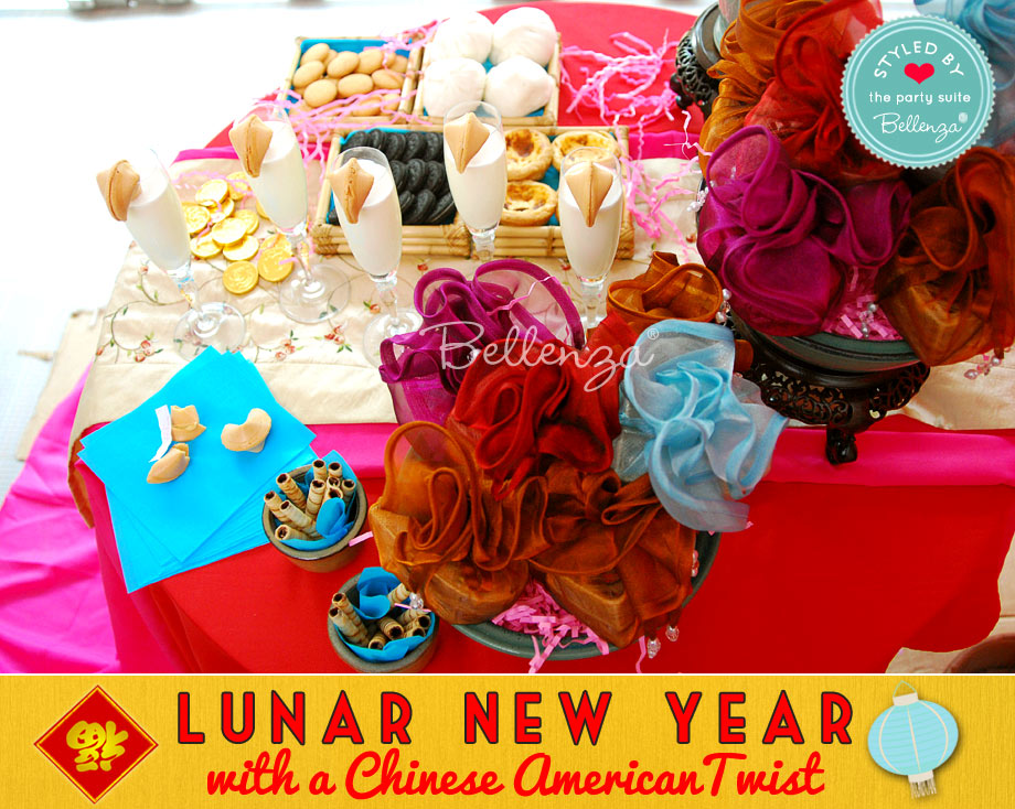 Lunar New Year with Snack Table