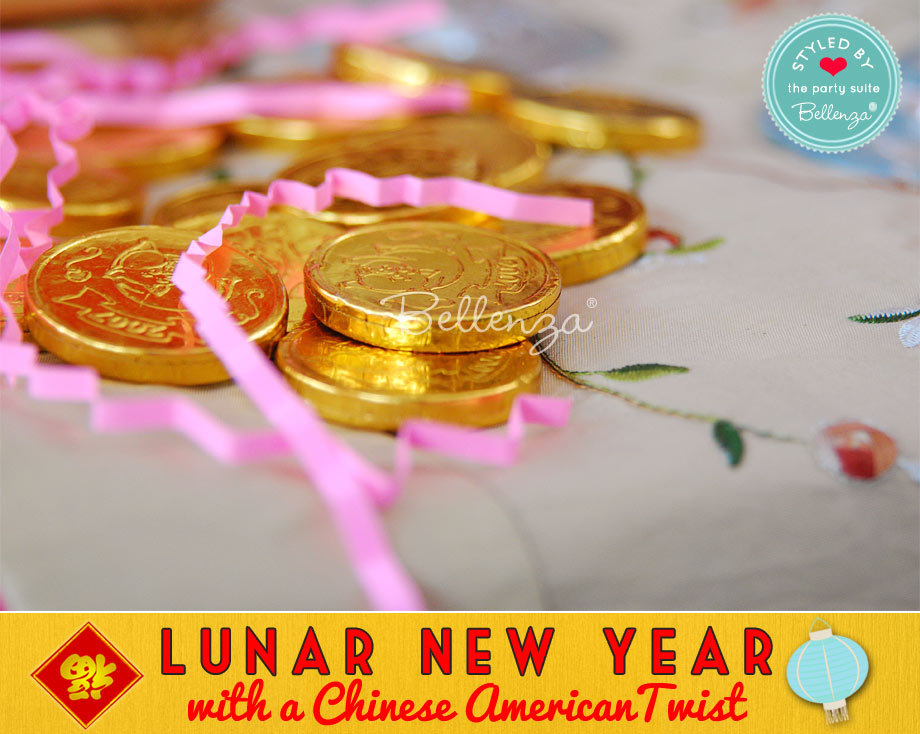 Lunar New Year Lucky Chocolate Coins