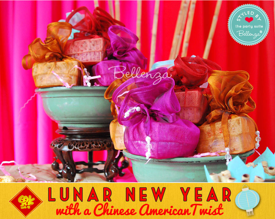 Lunar New Year with an Chinese American Twist Favors