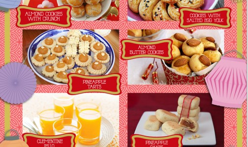Chinese New Year Treats and Desserts From Pineapple Tart to Almond Jelly!