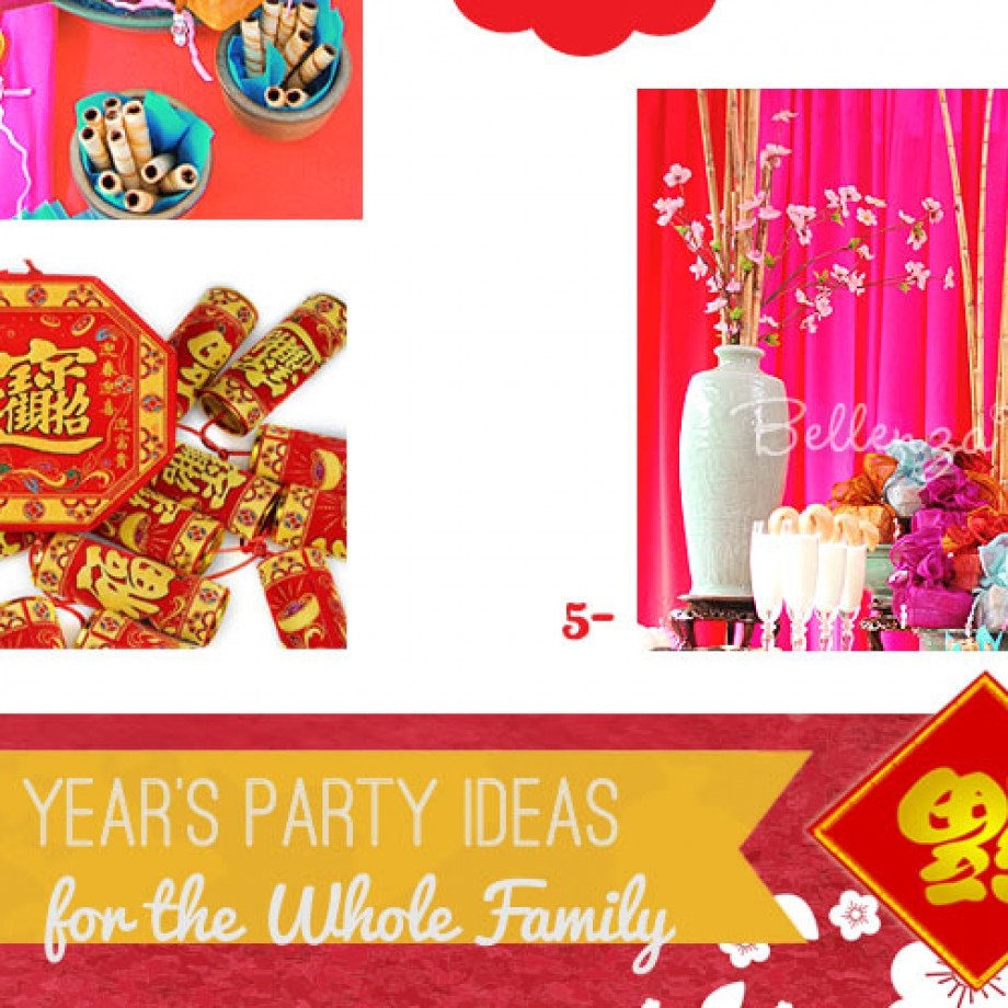 Chinese New Year Party for the Whole Familu