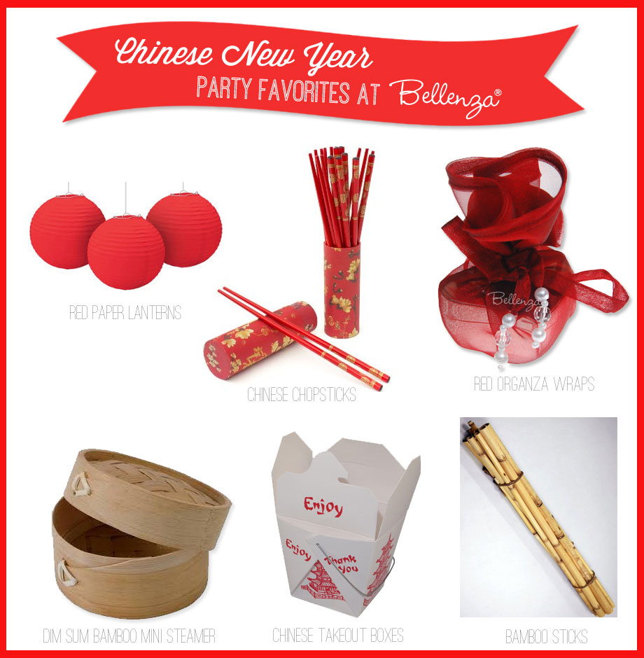 chinese new year party essentials decor and favors