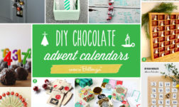 10 Advent Calendar Ideas to Make for Kids that Use Chocolates!