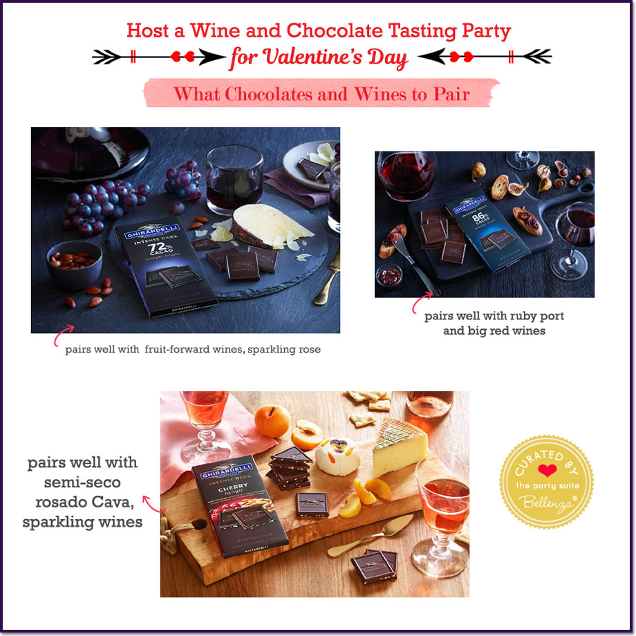 Wine and Chocolate Tasting Party for Valentine's Day