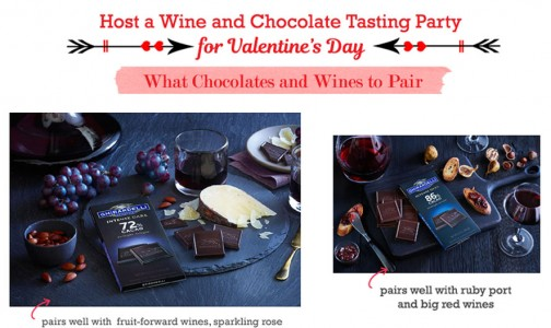 Chocolates and Wines Party for Valentine's Day