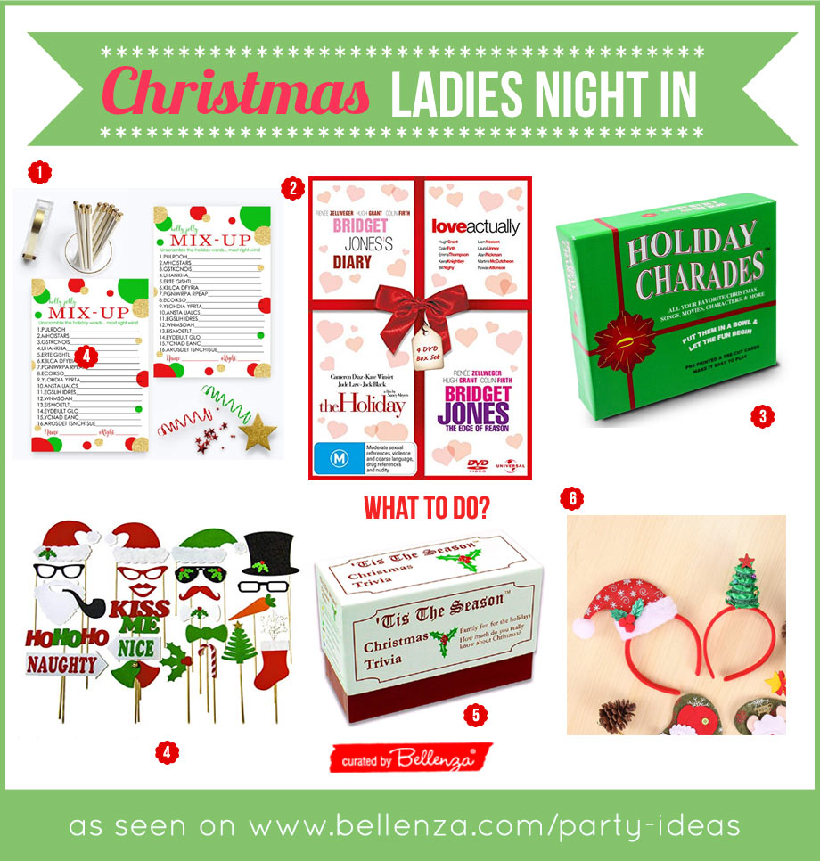 Christmas Ladies Night In Activities