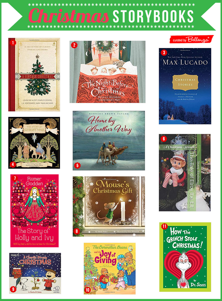 Christmas storytime books for kids