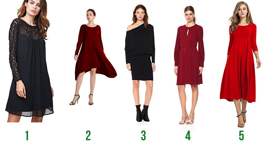 Hip Holiday Dresses and Tips for Looking Your Best