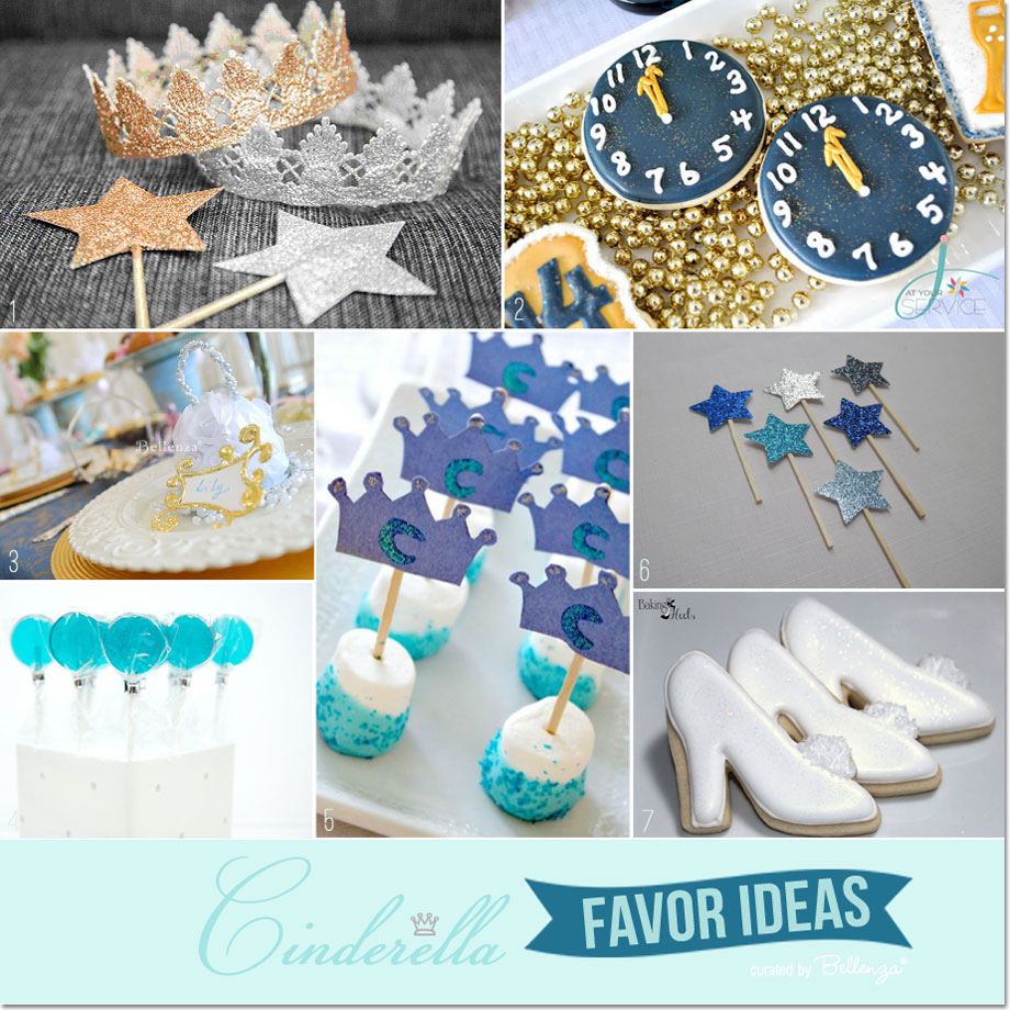Blue and gold Cinderella December birthday