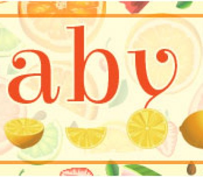 Citrus baby shower ideas