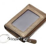 6 - Zipper Leather Coin Purse