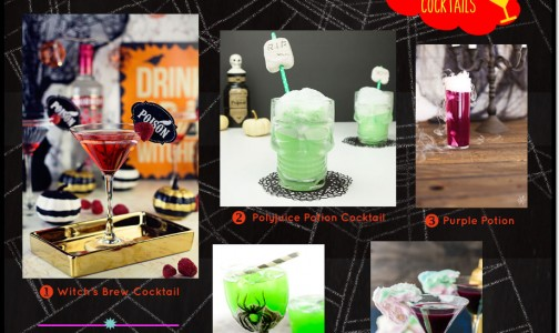 Frightfully Unique Halloween Cocktails