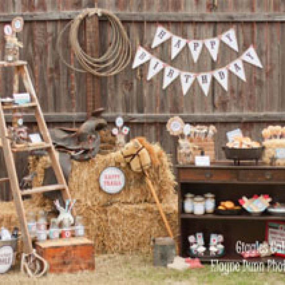 Western Theme Party Decorating Ideas Part - 34: Wild West Party Ideas For Your Little Birthday Cowboy!