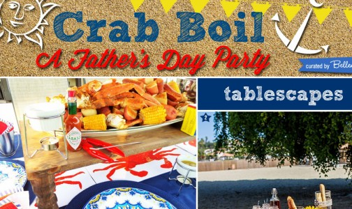 Crab Boil Cookout Party Ideas